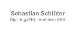 Sebastian Schlüter Dipl.-Ing.(FH) Architekt AKH Erlenweg 4 63477 Maintal Mobil: 0178-1835684